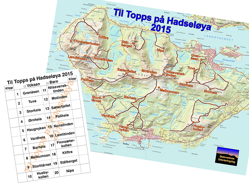 10 på topp, Hadseløya (Dronefilm)